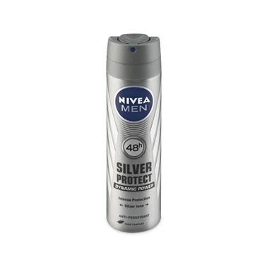Nivea Men Silver Protect Deodorant Sprey 150ml Renksiz